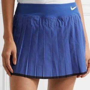 NIKE VICTORY TENNIS SKIRT/SKORT BLUE